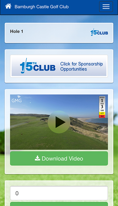 Mobile App Development for Golf Media Group