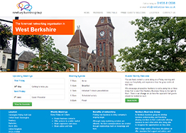 Website Design for the Newbury Business Group